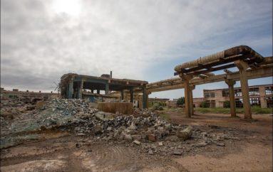 Заброшенный Сакский химический завод