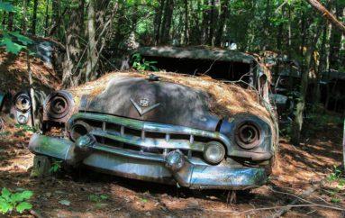 Самое большое в мире кладбище старых американских авто | Old Car City
