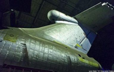 Недостроенный летучий корабль-экраноплан «Спасатель»