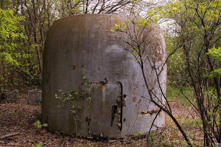 Заброшенный военный объект в подмосковном лесу