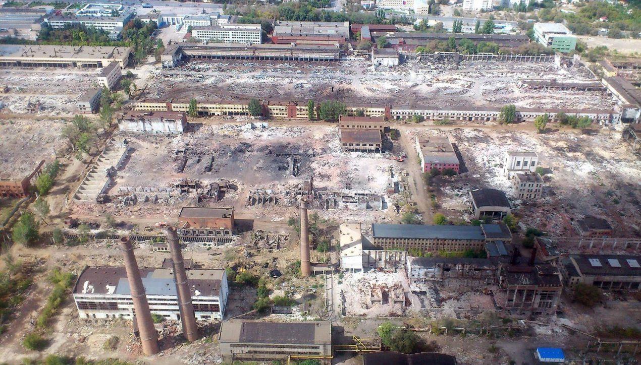 Как после войны | Руины Волгоградского тракторного завода