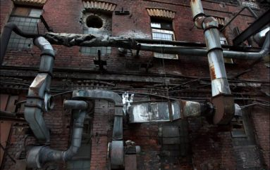 Заброшенный питерский завод «Красный Треугольник»