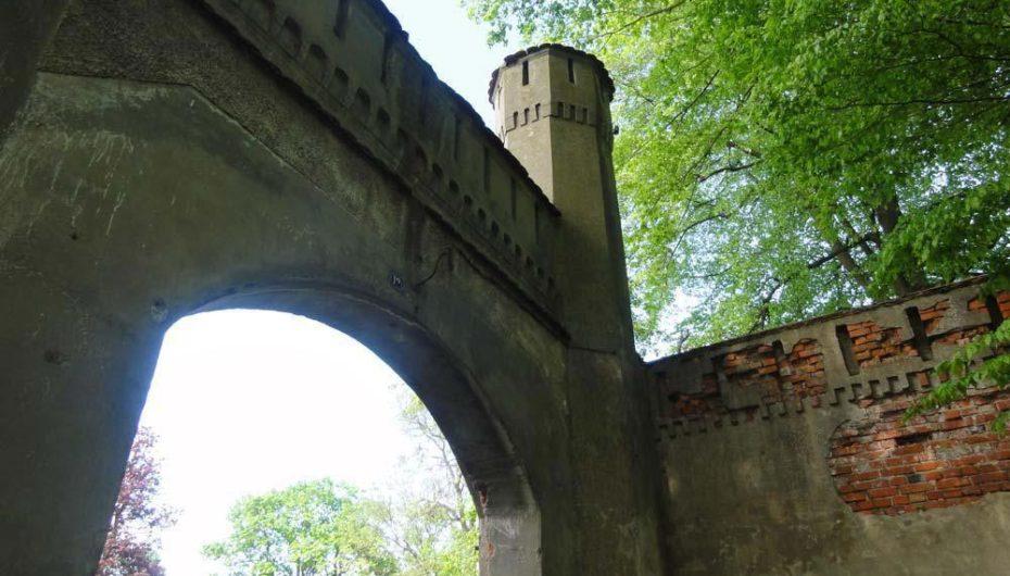 Замок Гердауэн в Калининградской области