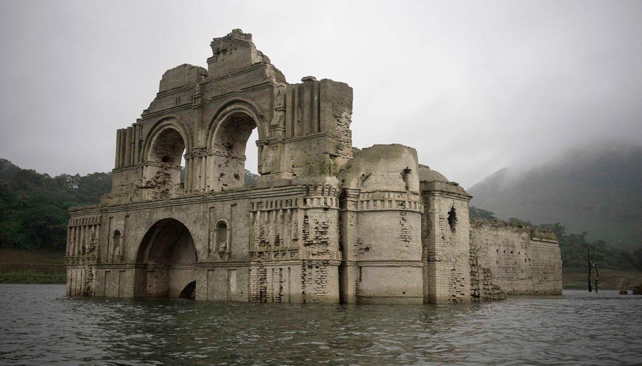 Города и церкви, затопленные водохранилищами