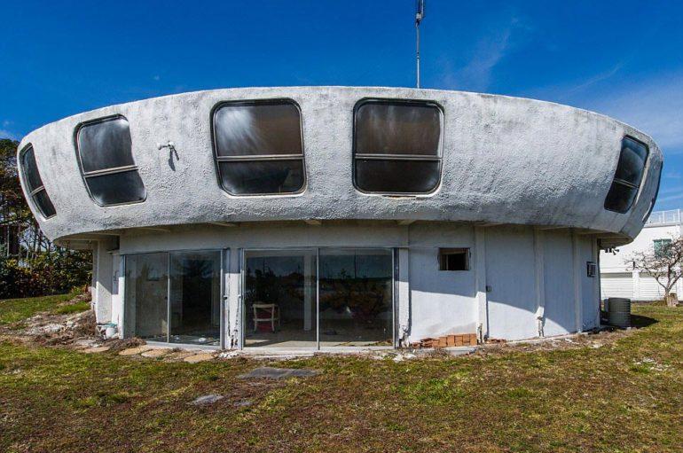 Во Флориде исчез заброшенный дом-НЛО
