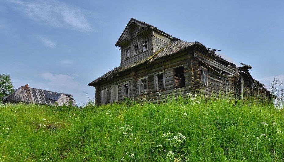 Исчезающие хоромы Вологодского края