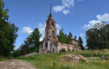 Забытый двухсотлетний храм в селе Торманово