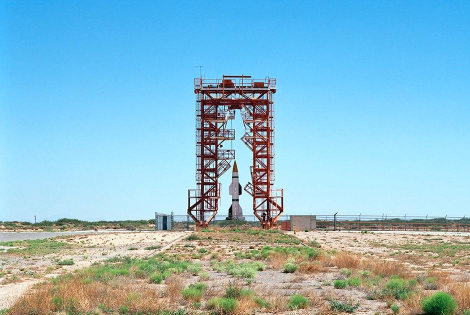 Пусковая площадка ракет «Фау-2», башня номер 33, ракетный полигон Уайт-Сэндз, Нью-Мексико