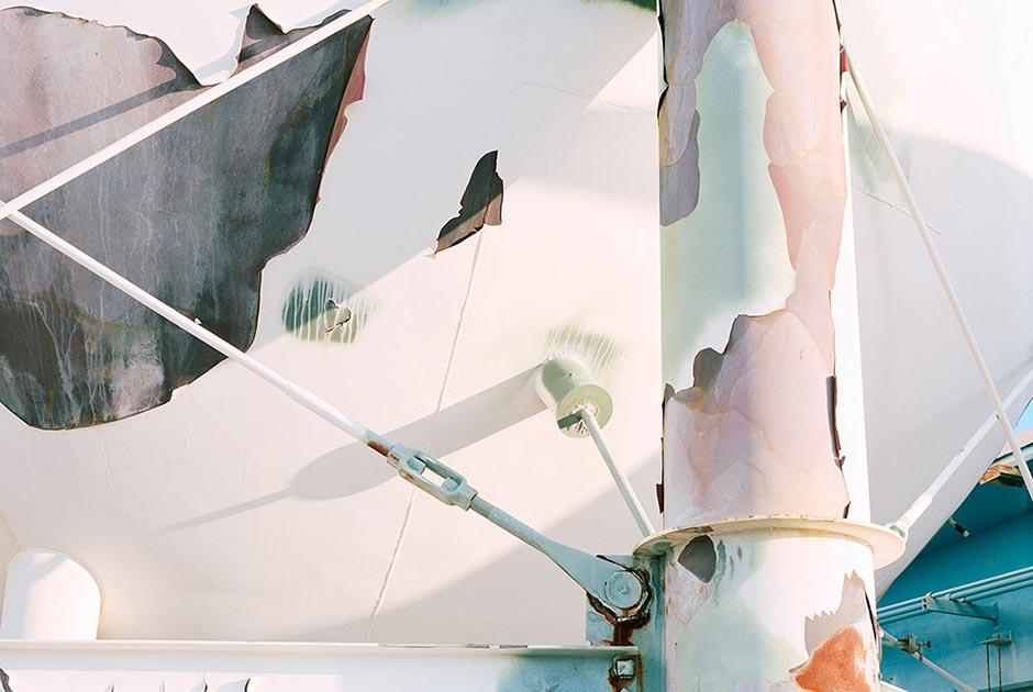Опора резервуара с жидким топливом. Пусковой комплекс 37, мыс Канаверал. Фото: Roland Miller
