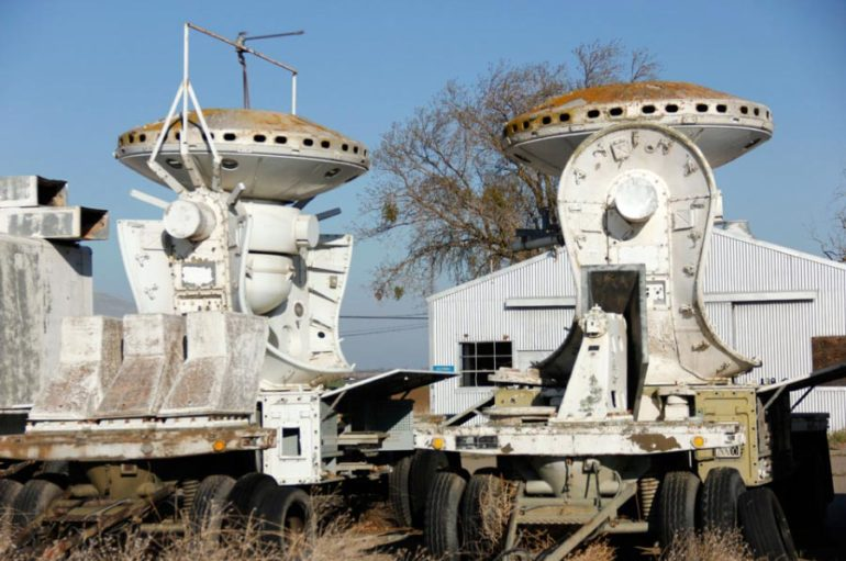 Заброшенный городок NASA в Калифорнии