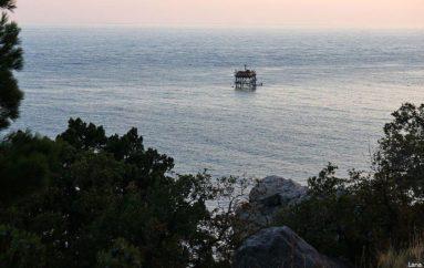 Океанографическая платформа | Крымский морской полигон