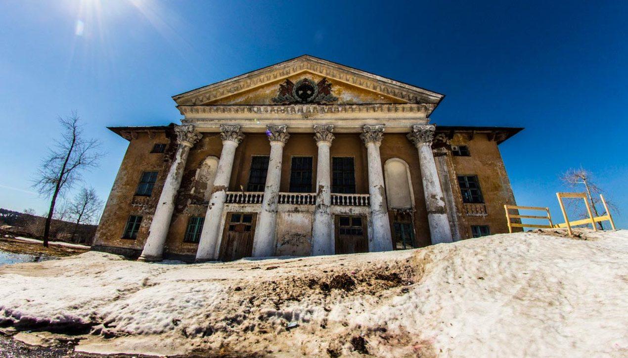 Заброшенный город Шумихинский