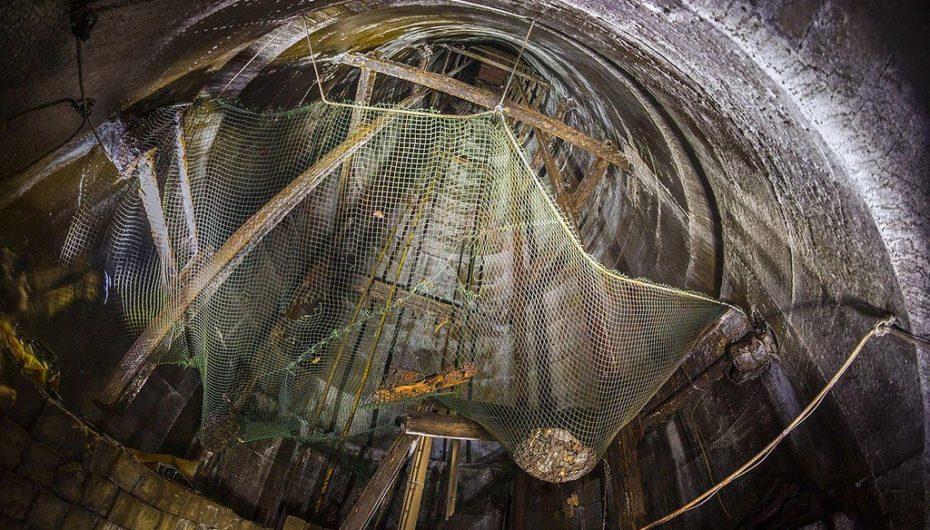 Угольная шахта на японском острове Икешима