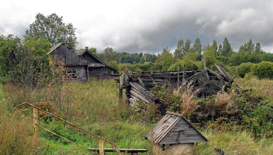 Россия заброшенные деревни сами поняли?