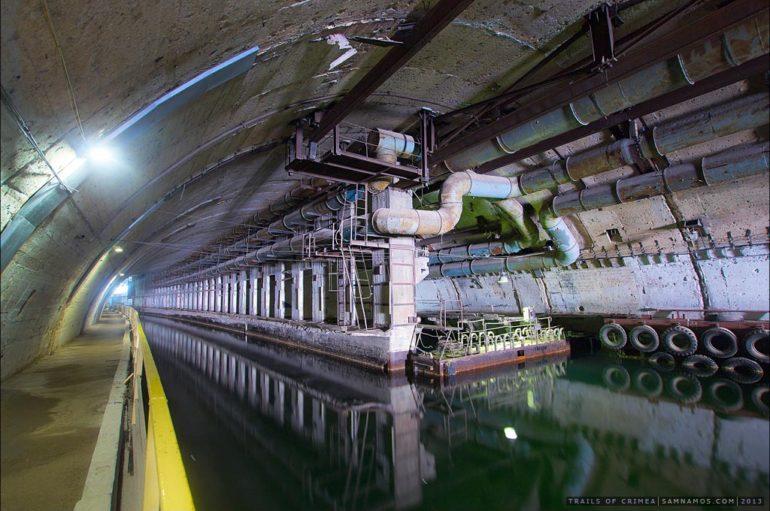 База подводных лодок в Балаклаве | Объекты 825 ГТС и 820 РТБ