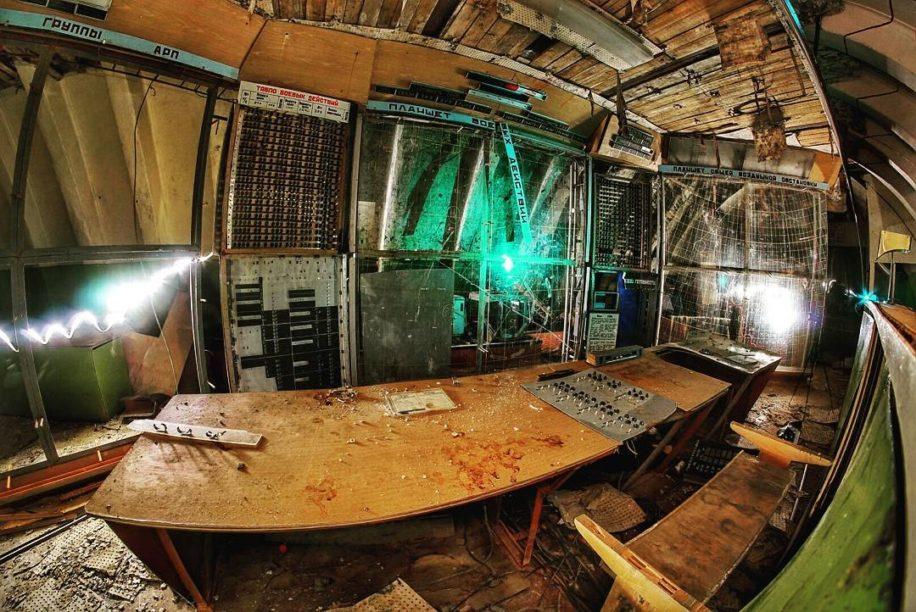 Заброшенный бункер ЗКП