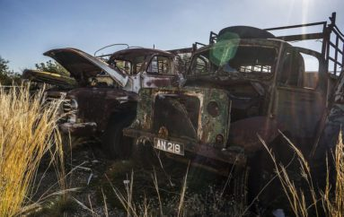 Ржавчина и зной | Кладбище ретро-автомобилей на Кипре