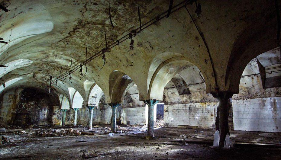 Погреба московского пивоваренного завода