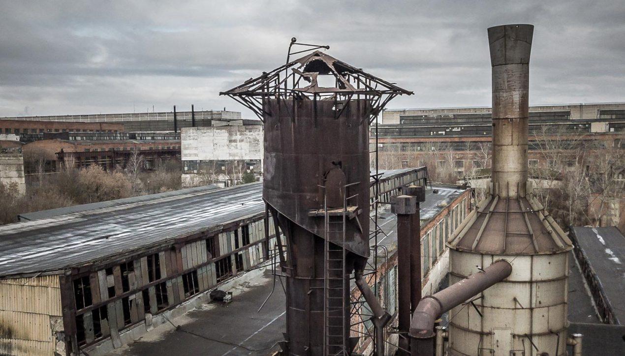 Труп промышленного гиганта | Коломенский завод тяжёлых станков