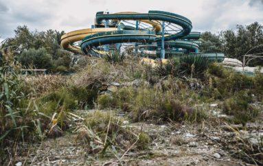 Заброшенный аквапарк «Экватор»