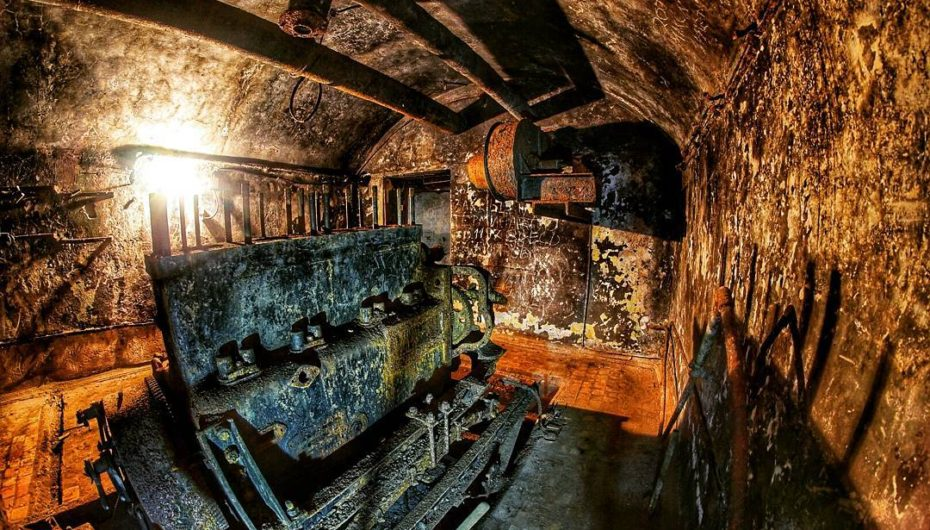 Мощный бункер 1940-х