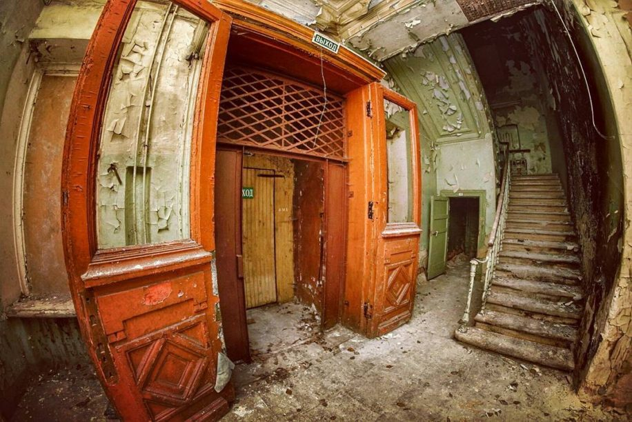 Заброшенная больница в центре Москвы