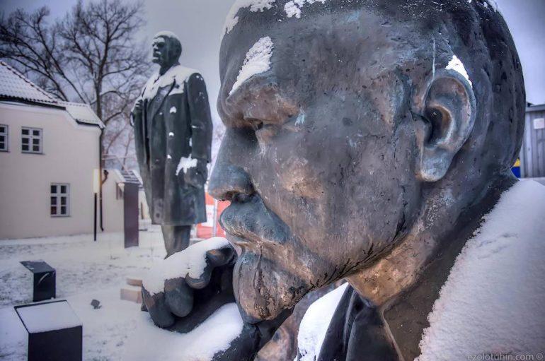 Кладбище советской истории в Эстонии