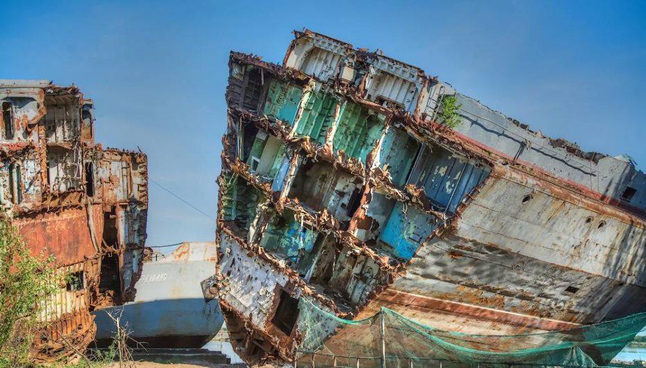 Кладбище военных кораблей Балтийского флота