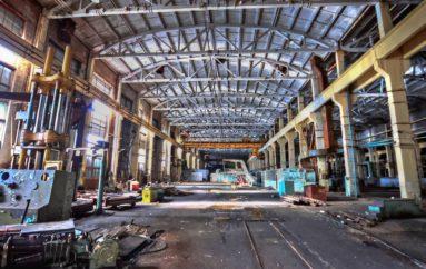 Заброшенный машиностроительный завод