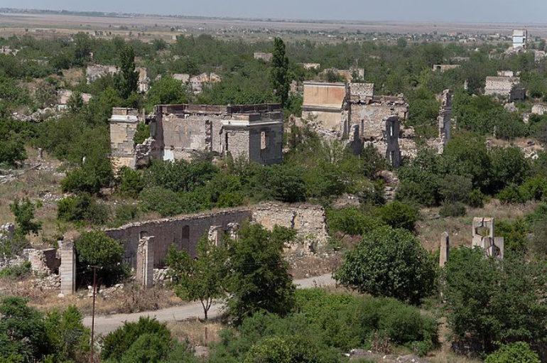 Агдам | Город-призрак в Азербайджане