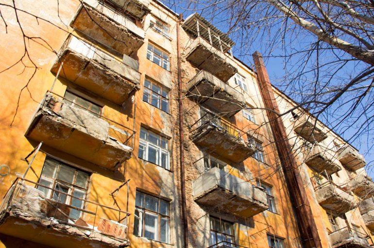Заброшенный дом в милицейском городке