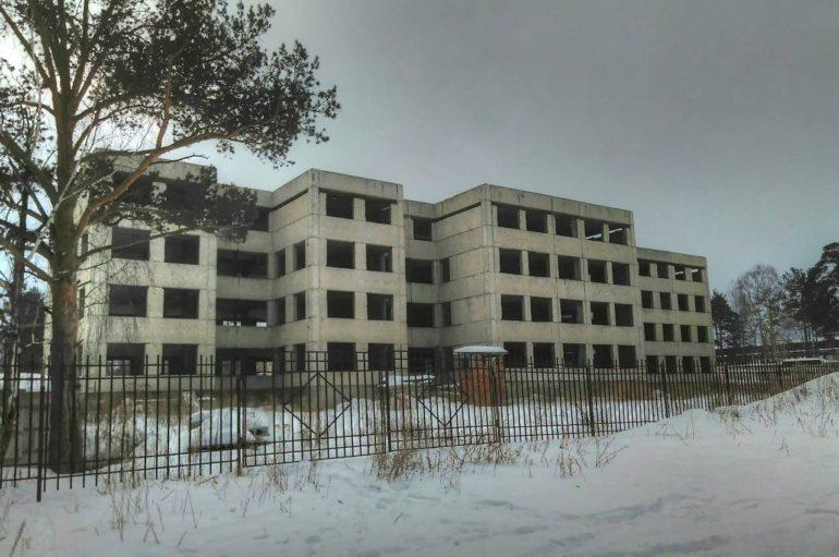 Заброшенная больница на птицефабрике