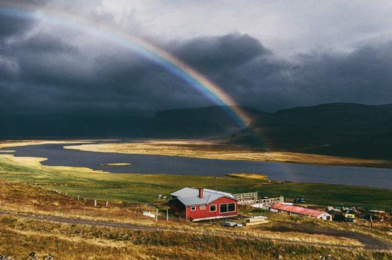Заброшенные дома Исландии