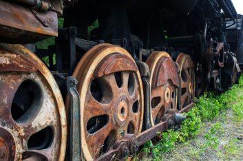 Кладбище паровозов под Уфой