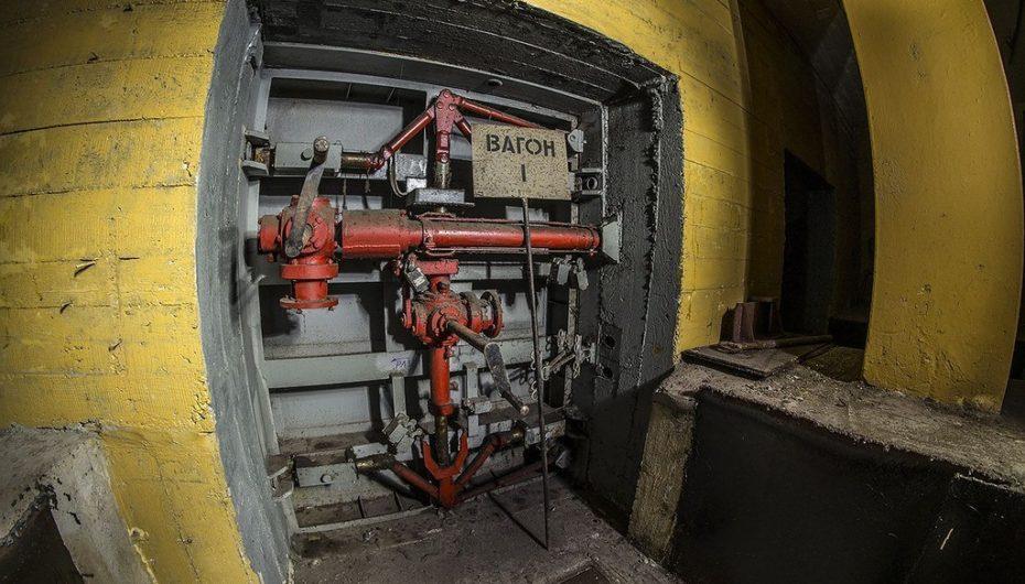Уникальное защитное сооружение — убежище в подземном переходе | Фото