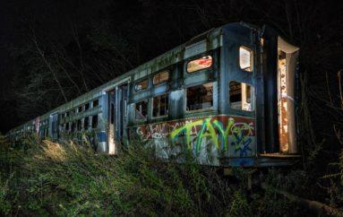 Фотопрогулка по заброшенному троллейбусному кладбищу