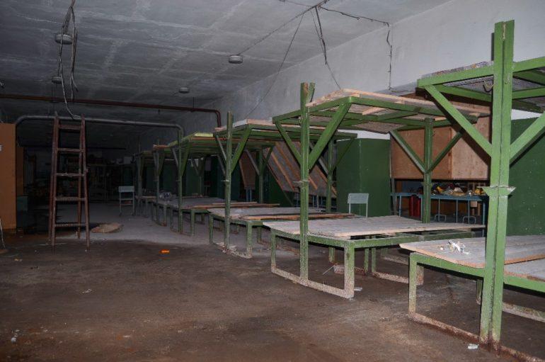Заброшенное бомбоубежище под магазином