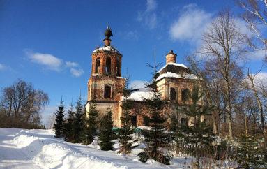 Три заброшенные церкви