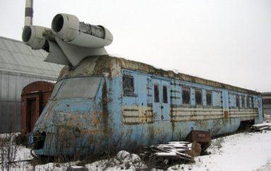 Забытый советский скоростной вагон-лаборатория