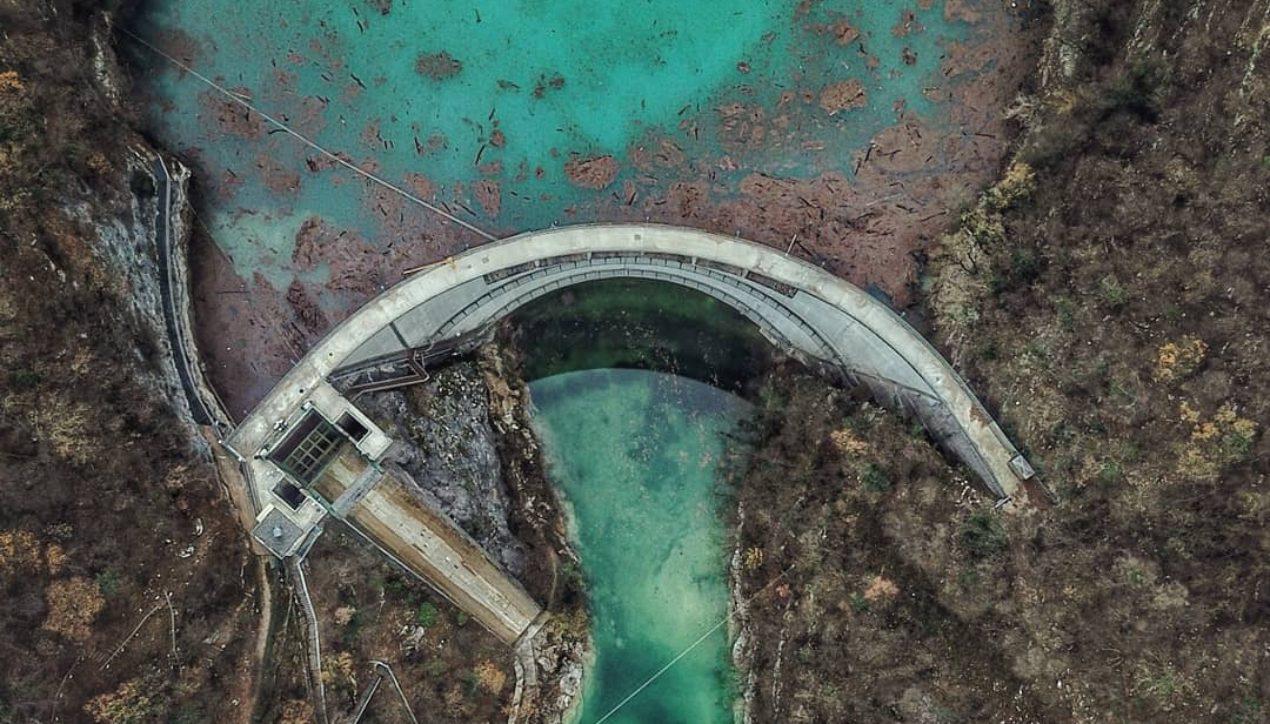 Горное водохранилище
