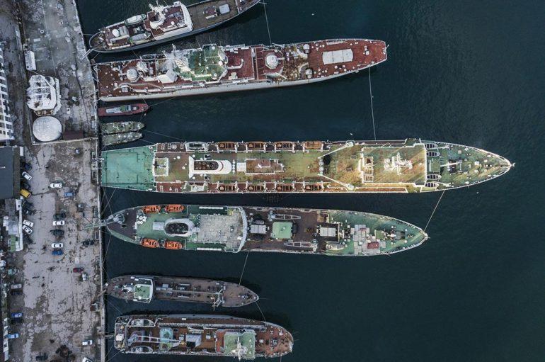 Ржавая подводная лодка Б-380 в Крыму: последний выпущенный экземпляр проекта 641Б «Сом»