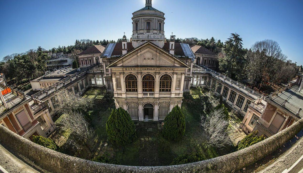 Огромная заброшенная больница в Италии