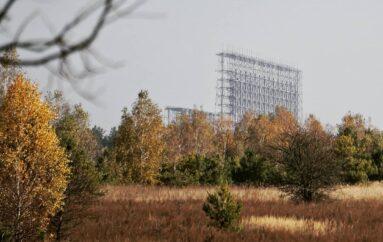Огромные антенны РЛС «Дуга» — объект, способный конкурировать с Припятью по уровню привлекательности
