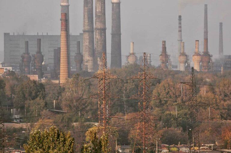 Индустриальная мощь в Запорожье: заводы, ГЭС и большой советский город