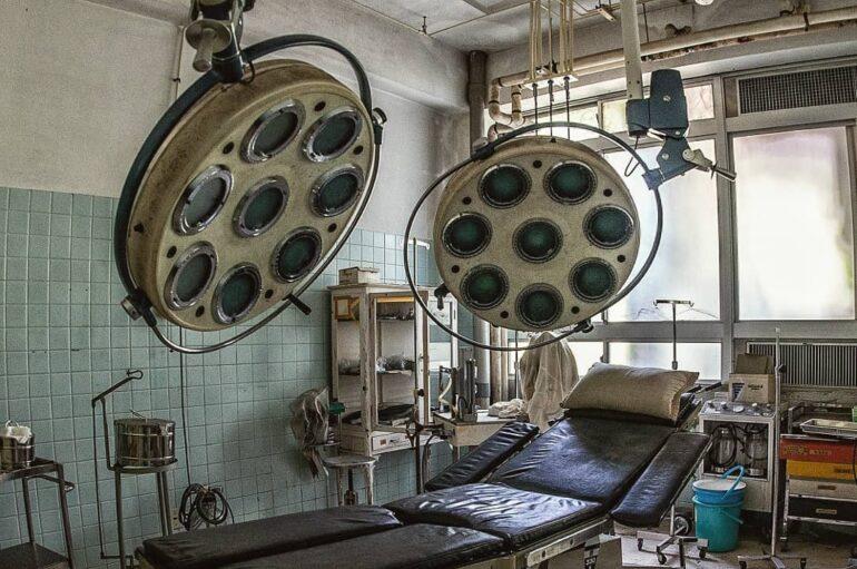 Заброшенная островная больница