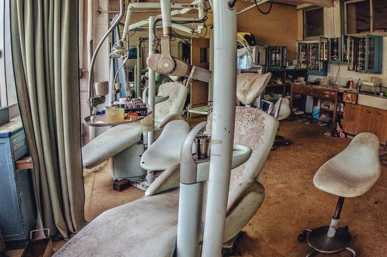 Заброшенный стоматологический кабинет
