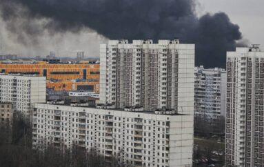 Пожар в Чертаново