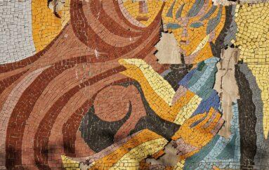 🎨 Мозаики на жилых домах по улице Ленина в Коломне — три больших панно на стенах пятиэтажек, назначенных к расселению